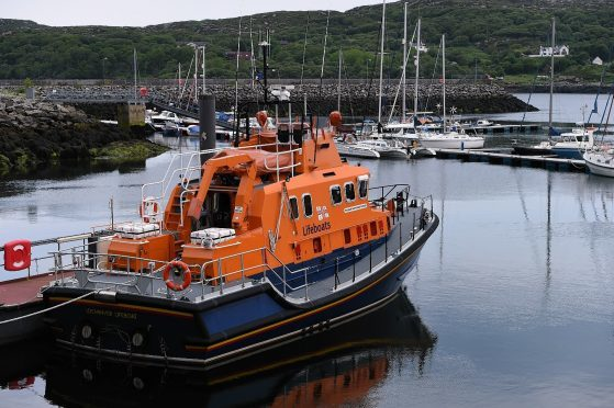 The Lochinver Lifeboat.