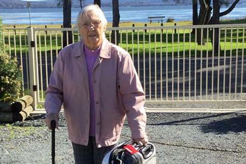 Chrissie Grant, 96, faces deportation.