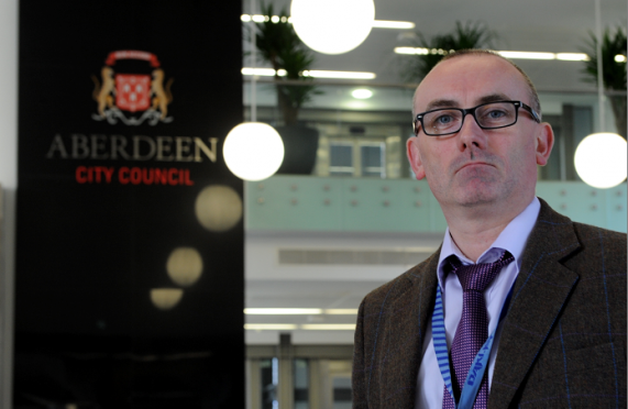 Graeme Paton, trading standards manager for Aberdeen City Council.