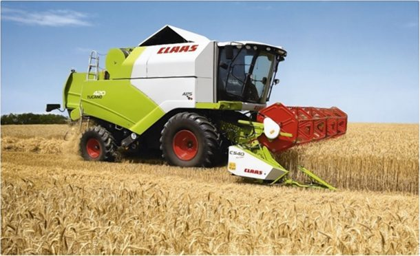 The company is the main Claas dealer in the north and north-east.