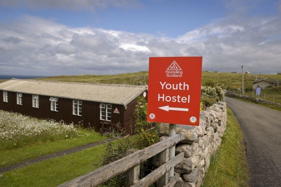 Durness-Smoo Youth Hostel. The entire network has been closed.