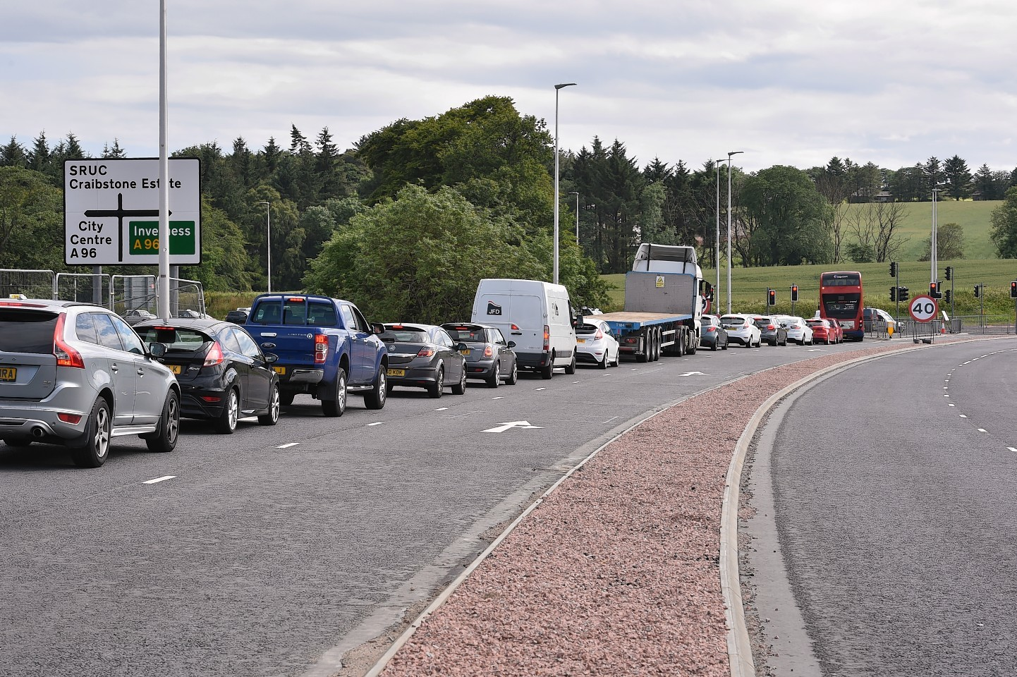 Part of Dyce Drive near Aberdeen International Airport will be closed for an extra week
