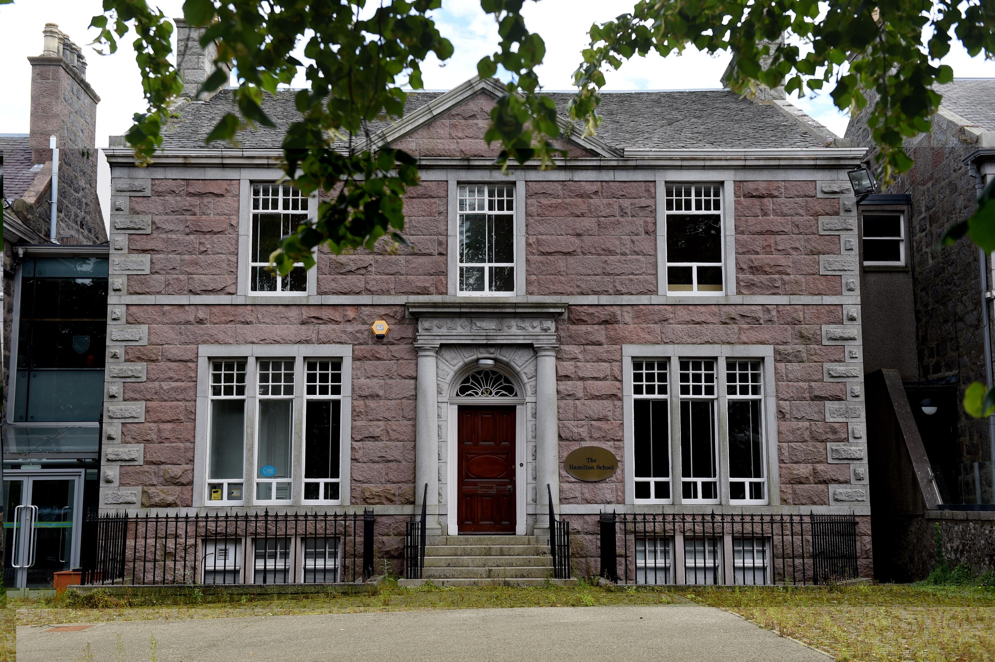 The former Hamilton School