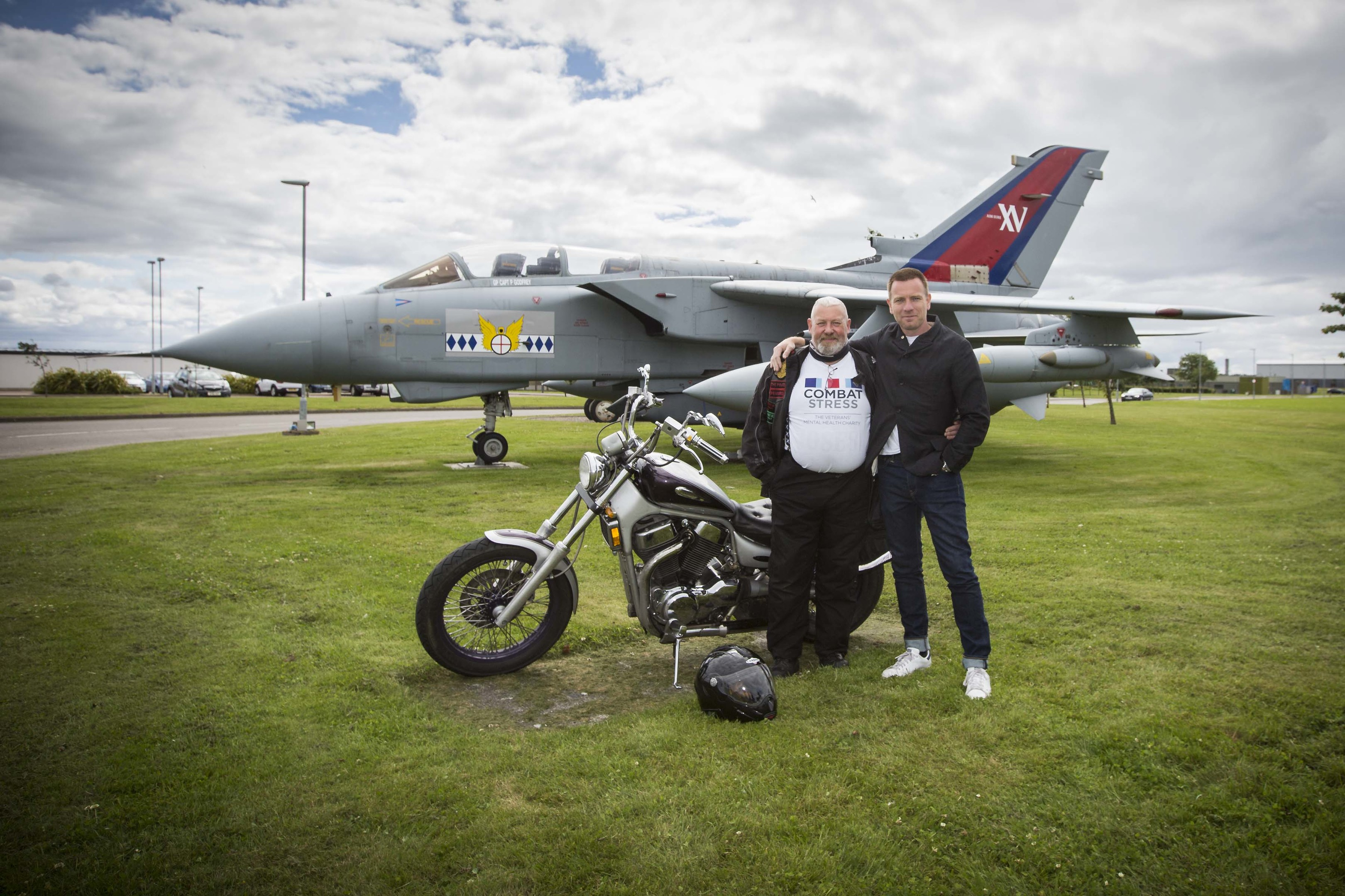 Description: Colin Pember Charity coast ride for combat stress Originator: MCO Section: MCO Ext: 7211 *For more information contact Photographic Section, RAF Lossiemouth, IV31 6SD. Tel: 01343 817191