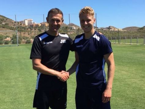 New Ross County signing Jamie Lindsay and manager Jim McIntyre