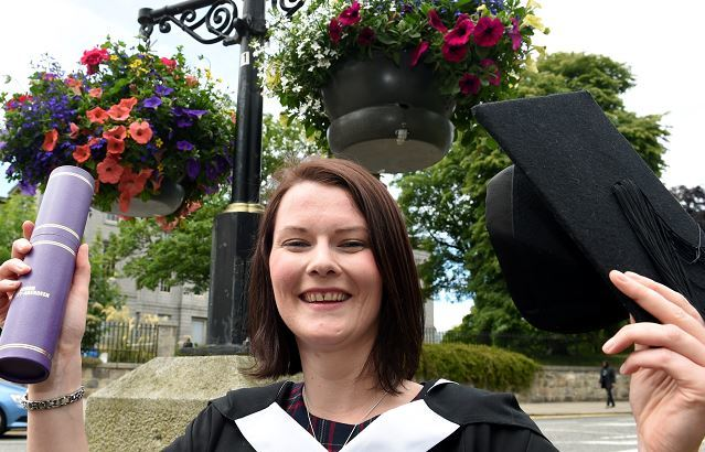 Lisa Michie, RGU graduate