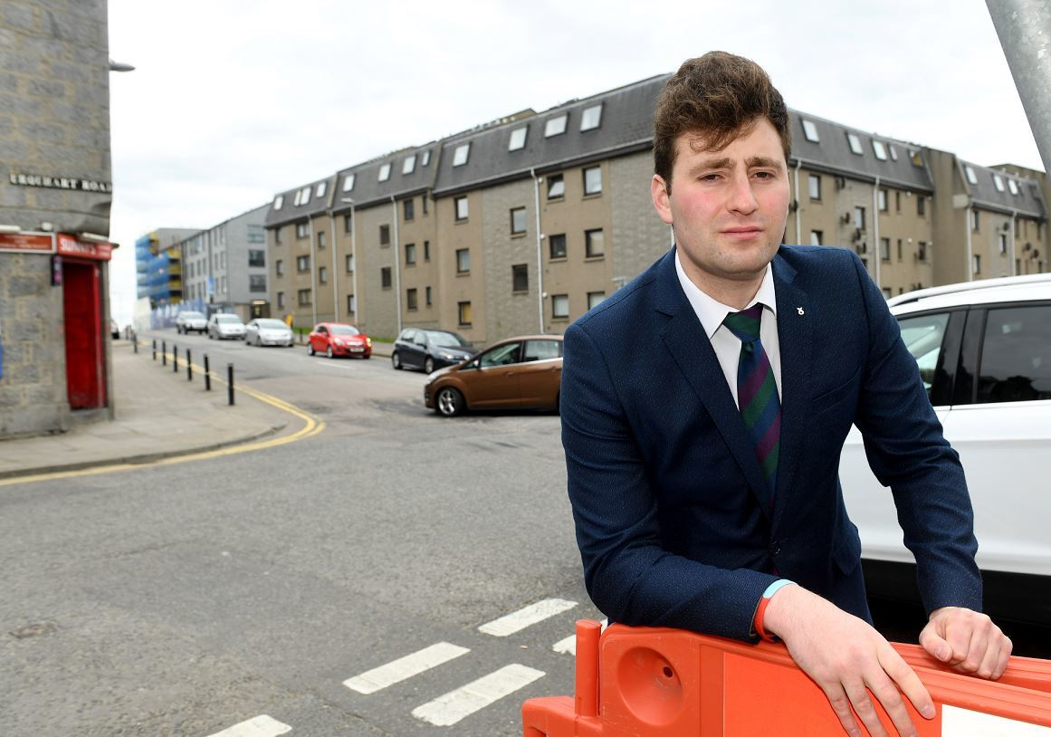 George Street and Harbour councillor Michael Hutchison