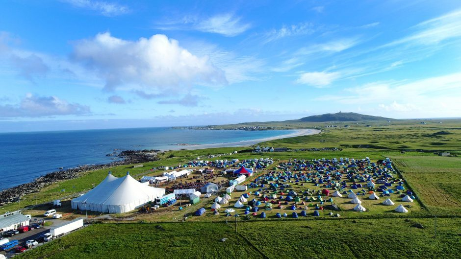 The 9th year of the Tiree Music Festival 2018