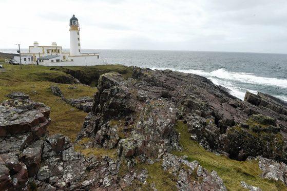 Rhu Reidh (Rhu Rhea) Lighthouse, Gairloch.