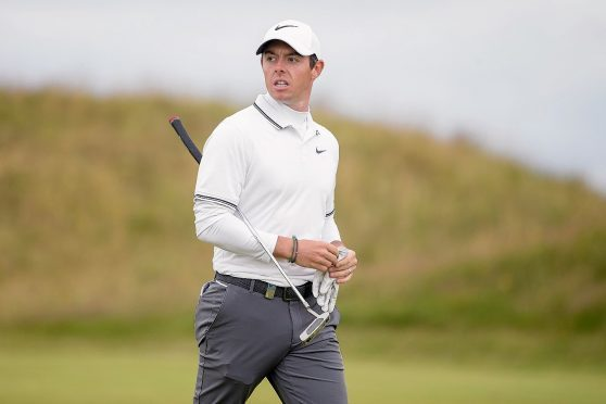 Rory McIlroy carded an opening round of 71 at Royal Birkdale.