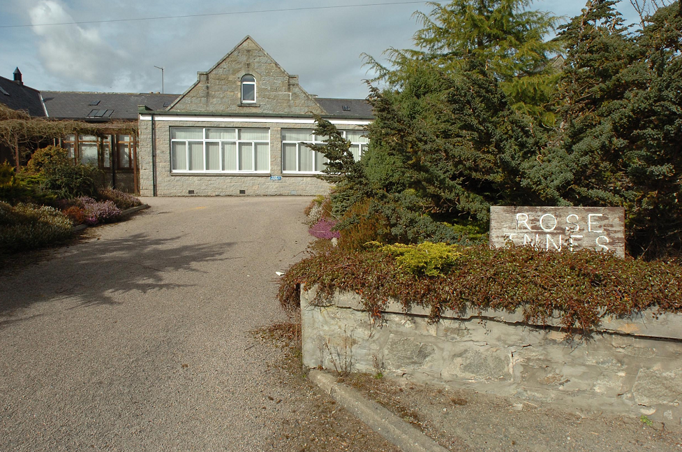 The former Rose Innes care home.