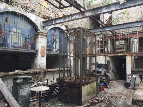 Inside the former Elgin nightclub