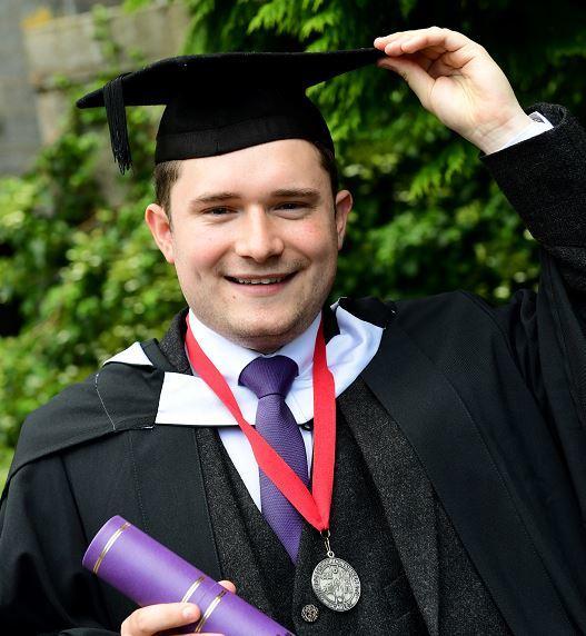 Tom Sadler, RGU graduate.