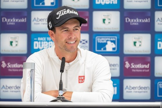 Adam Scott is making his first appearance at the Scottish Open since 2009.