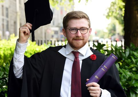 Barry Black, RGU graduate