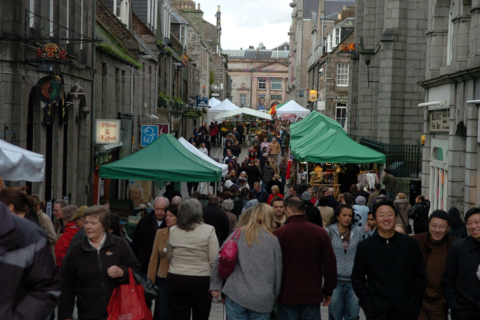 The Belmont Street Farmer's Market has been a fixture in the city centre for almost two decades