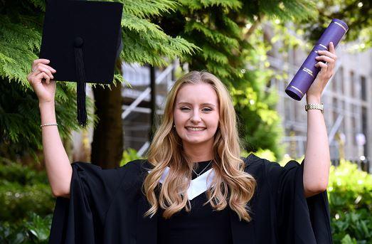 Emma Leask, RGU graduate