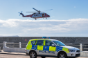 The man was transported to Aberdeen Royal Infirmary by helicopter. Photograph: Brian Smith