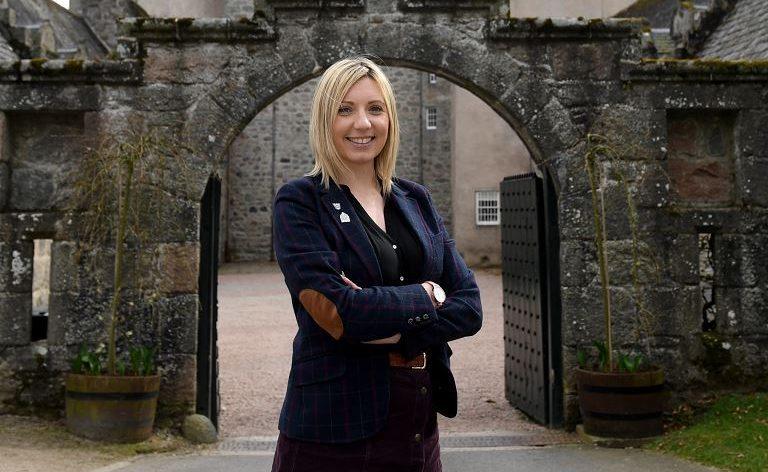 Paula Swan, property manager at Castle Fraser.
