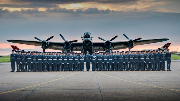 The Queen's Colour Squadron of the RAF