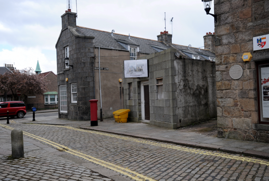 The old toilet block will now be transformed into a cafe