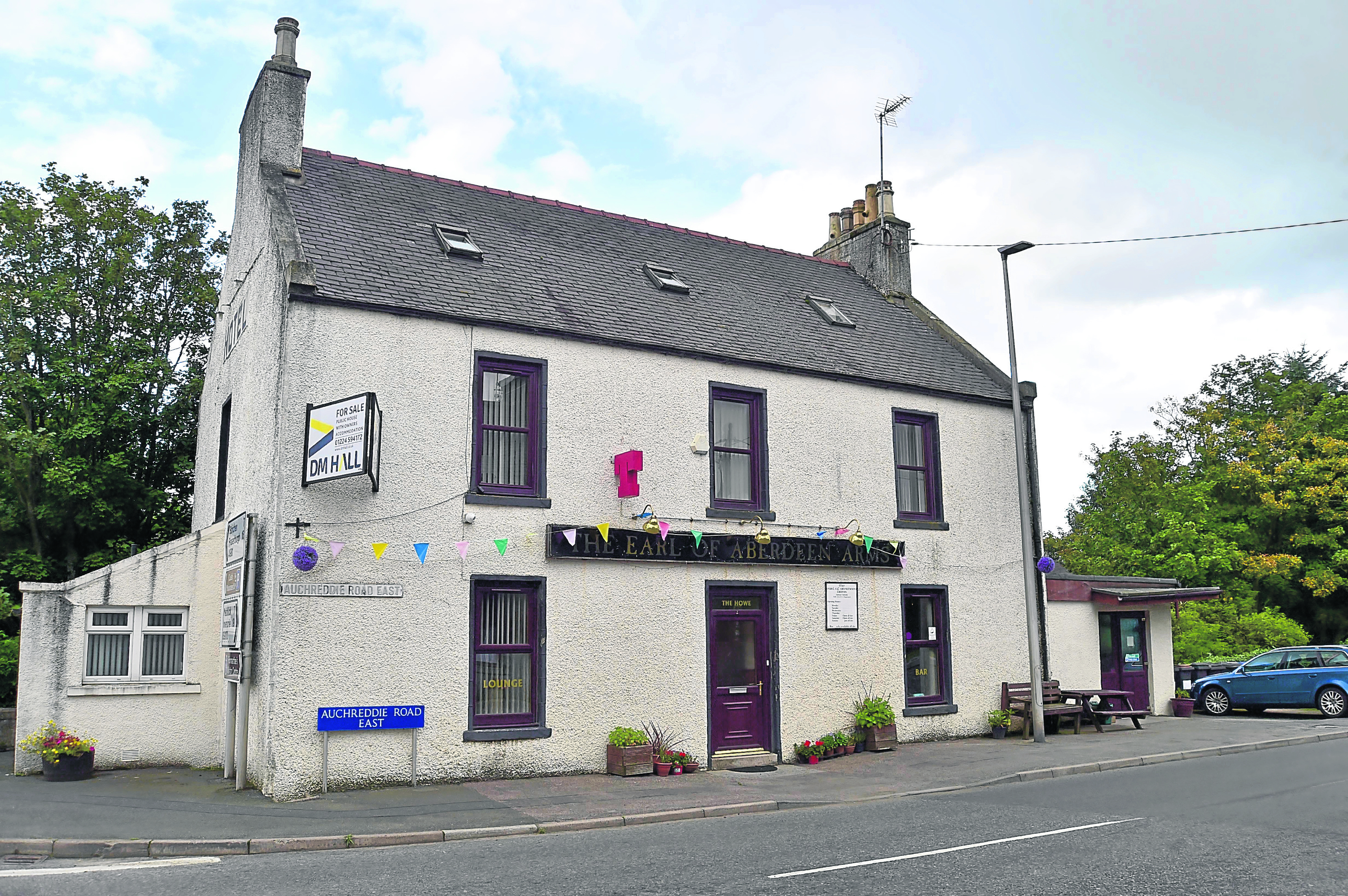 The Earl of Aberdeen Arms in New Deer