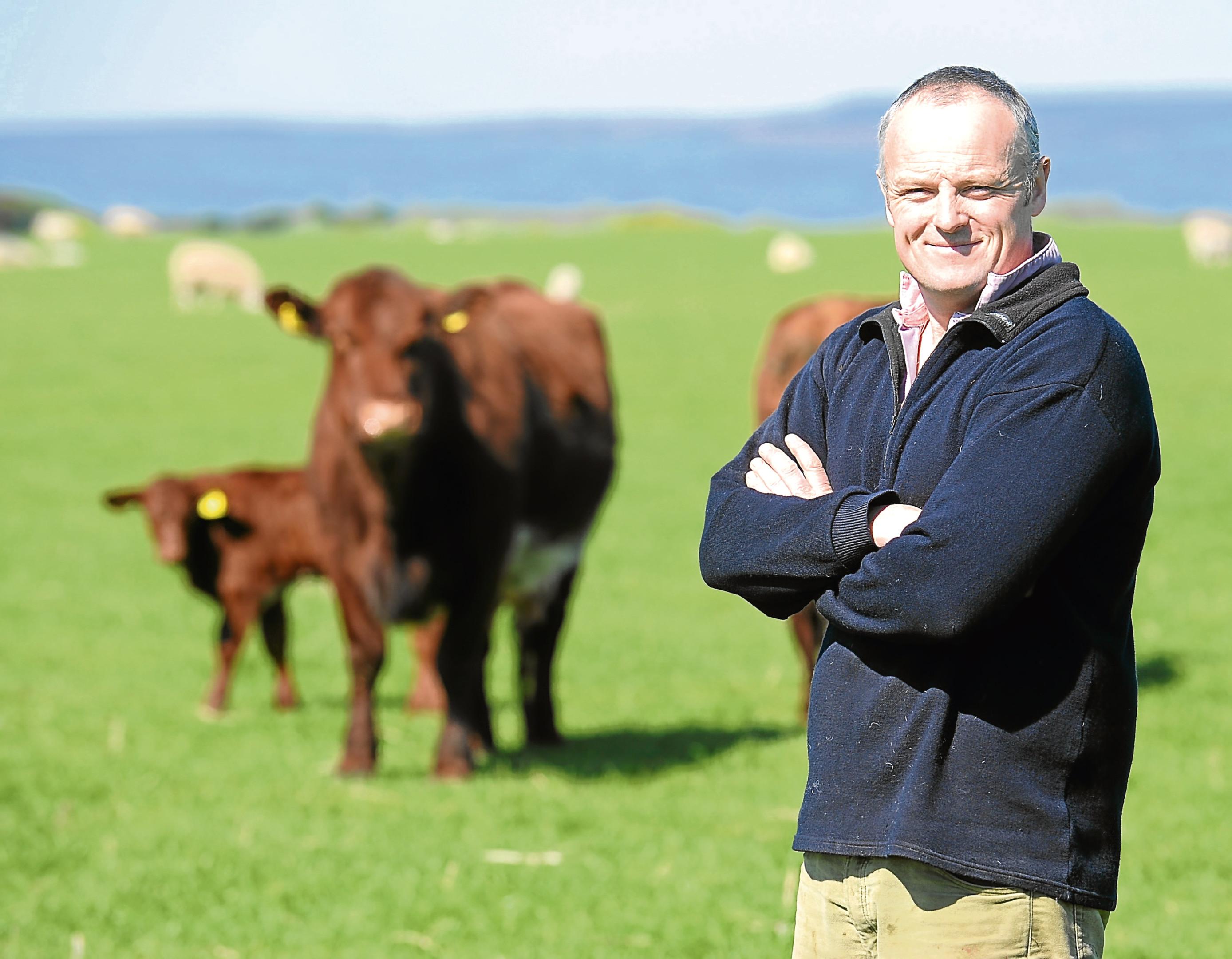 John Scott from Fearn Farm.