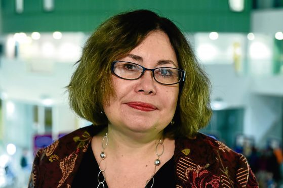 Professor Sarah Pedersen, Professor of Communication and Media at RGU.