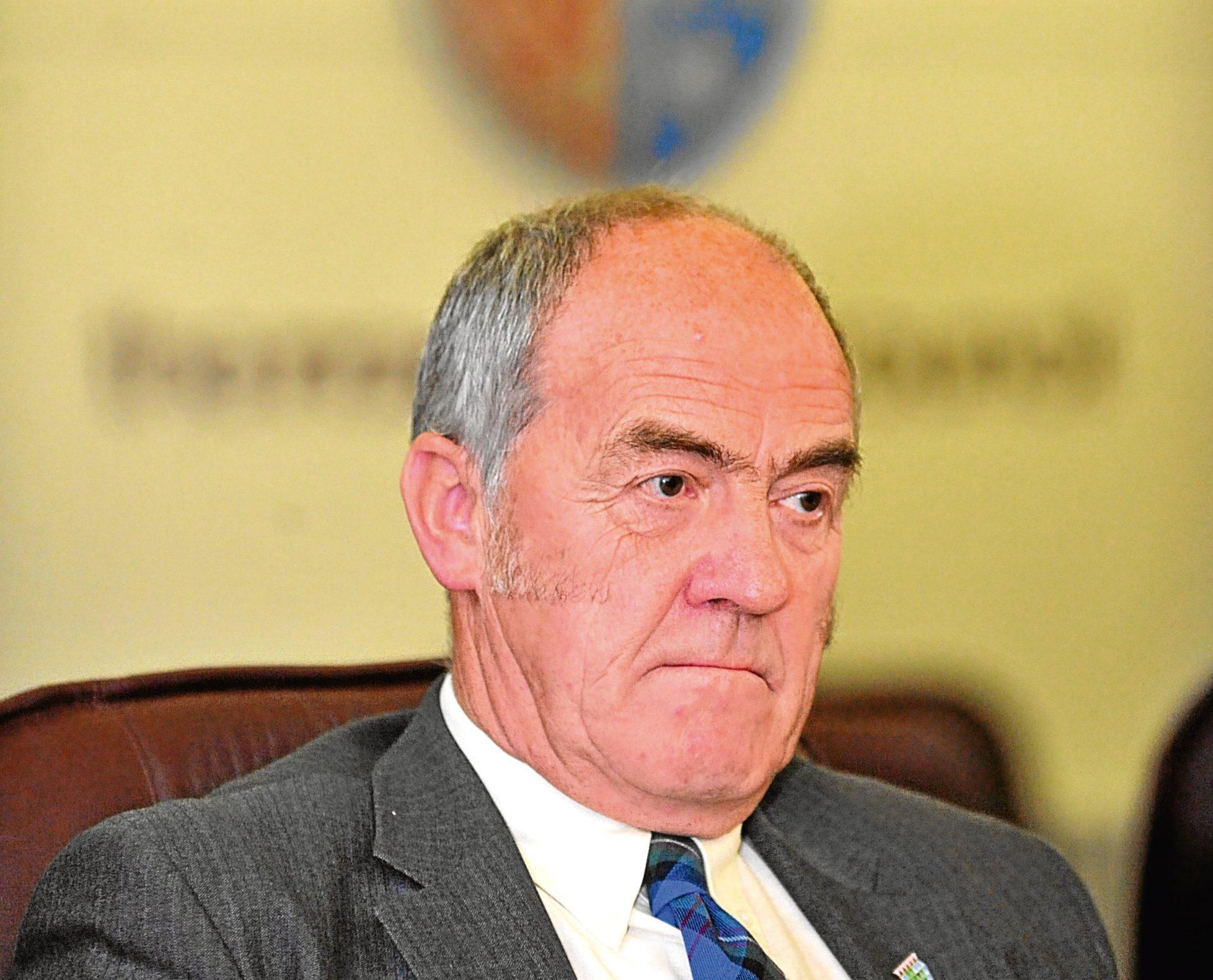 Moray Council leader George Alexander
