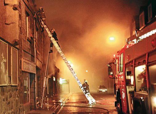 The scene in 1998