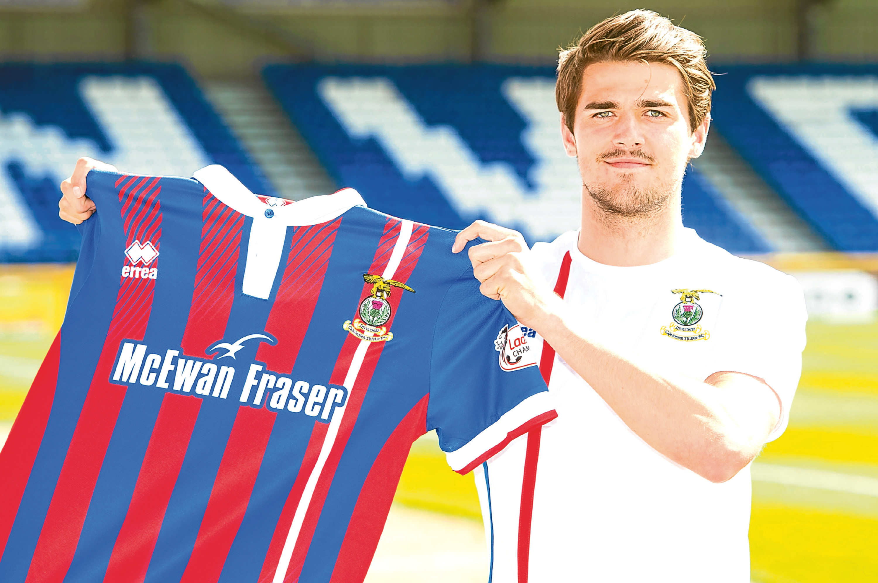 New Inverness signing Charlie Trafford