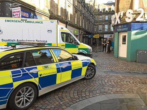 Alleged assault on Lombard Street, Inverness
