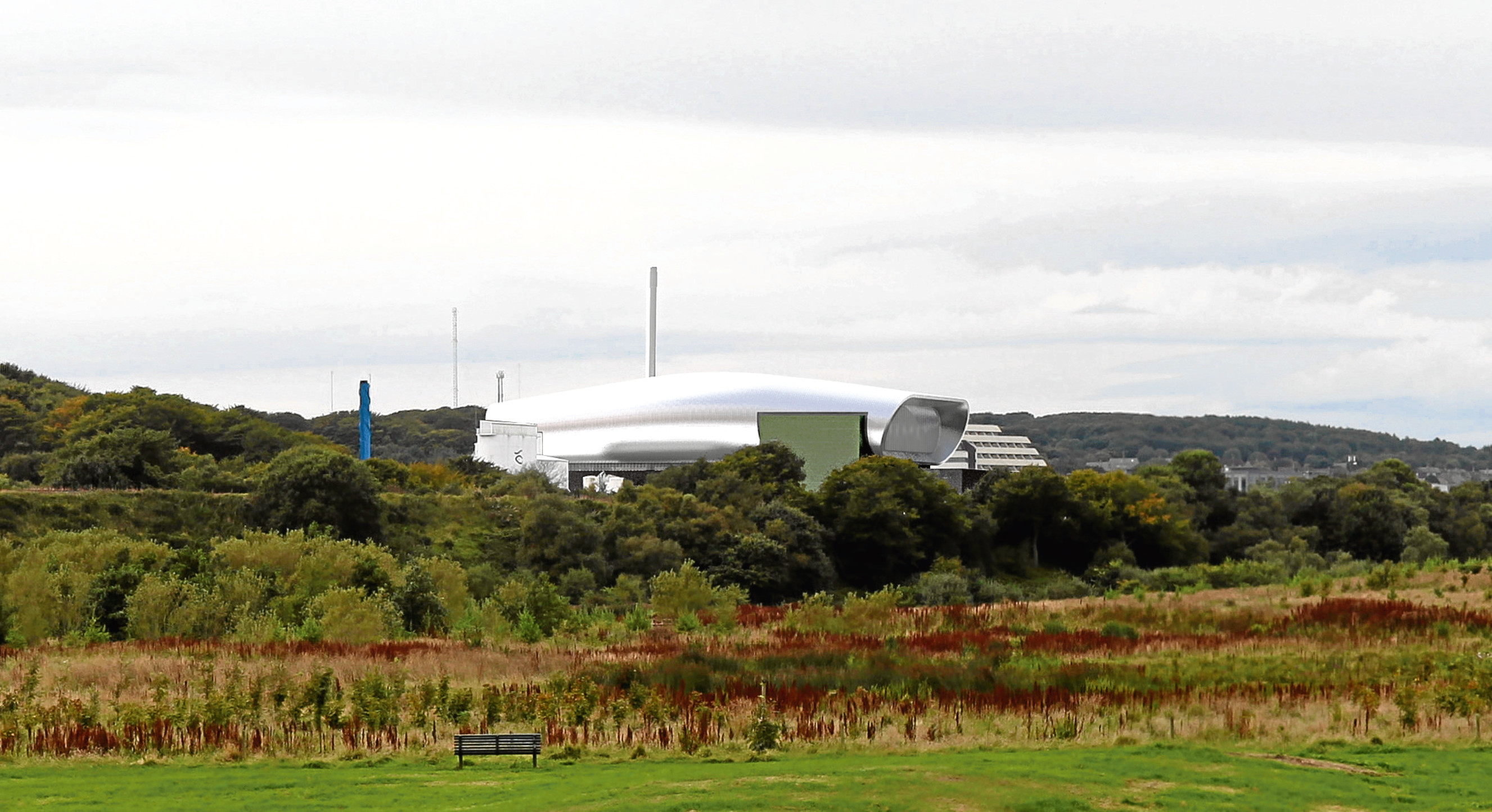 How Aberdeen's energy from waste plant could look.