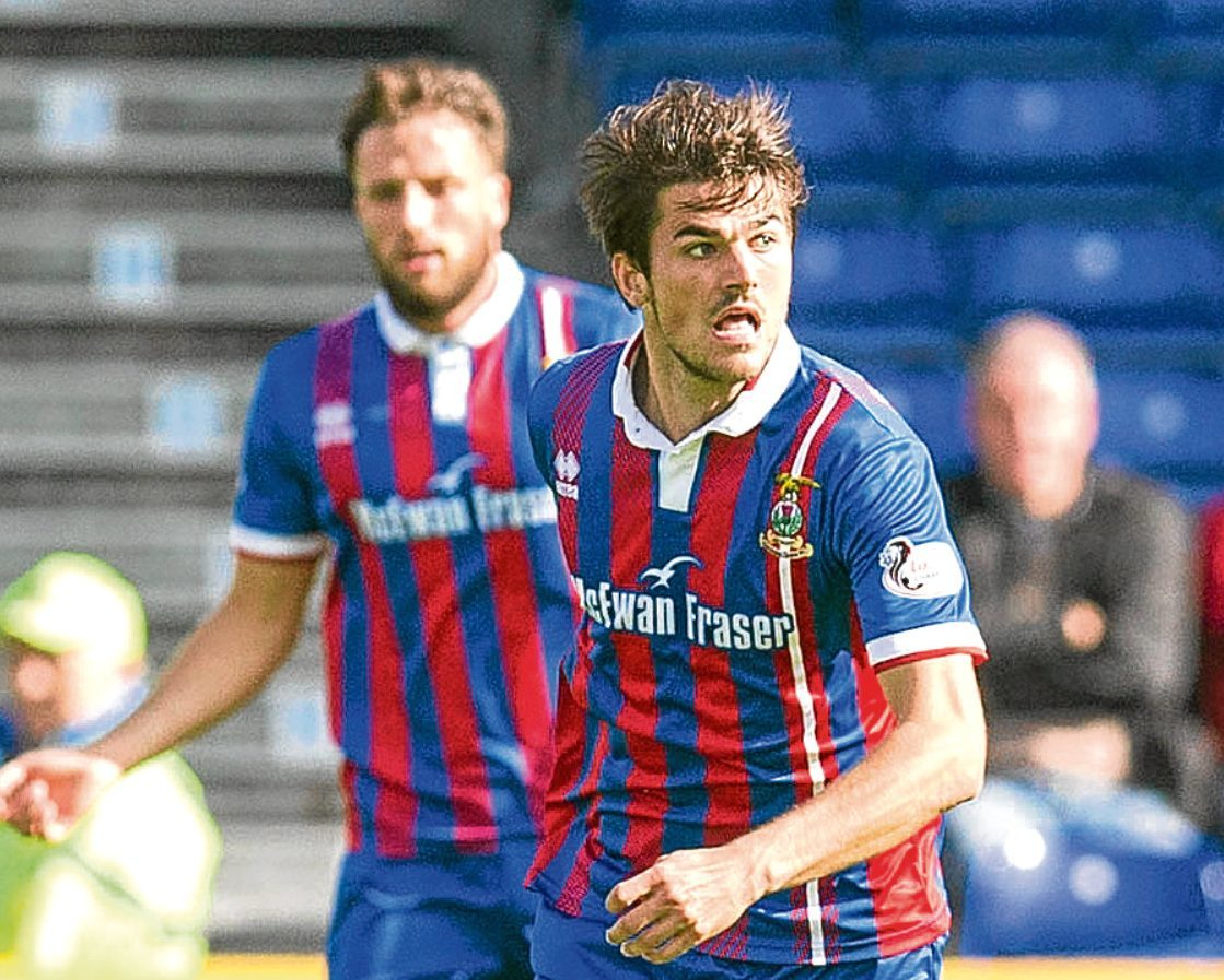 Caley Thistle midfielder Trafford would hope to be involved in the 2026 World Cup.