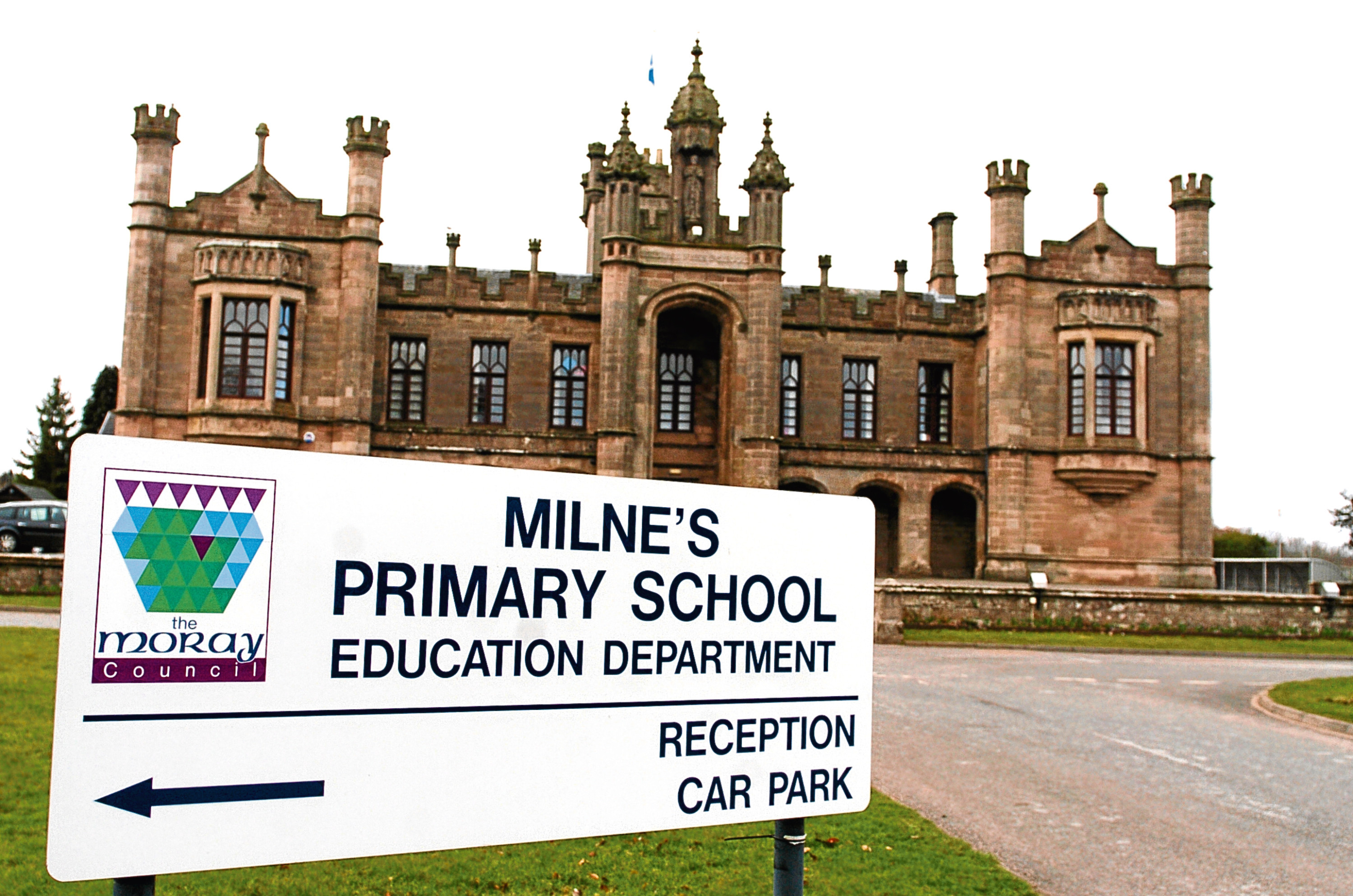 Milne's Primary School in Fochabers.
