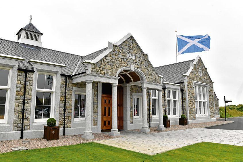 The Dunes Restaurant, Trump International Golf Links, Scotland.    Pictures by Kami Thomson