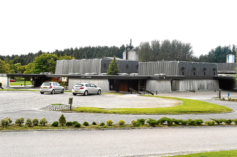 Aberdeen Crematorium.