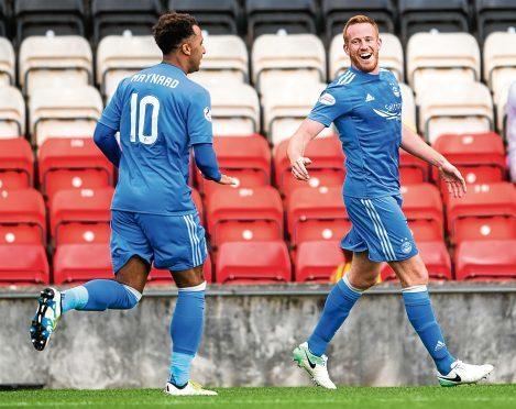 Adam Rooney scored Aberdeen's opening goal