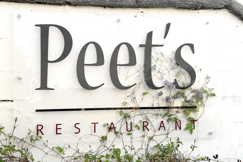 Peet's restaurant, beside the harbour in Lochinver. Pics by Sandy McCook.