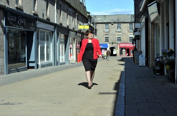 Gill Neill, manager of Elgin's business improvement district, hopes Batchen Street will continue to thrive.
