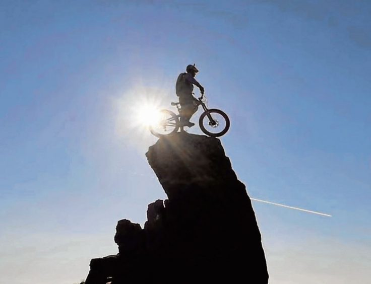 The trio admitted to their rescuers they had been inspired to attempt the walk after watching daredevil Danny MacAskill's death-defying ride over the range –which included stunts – online.