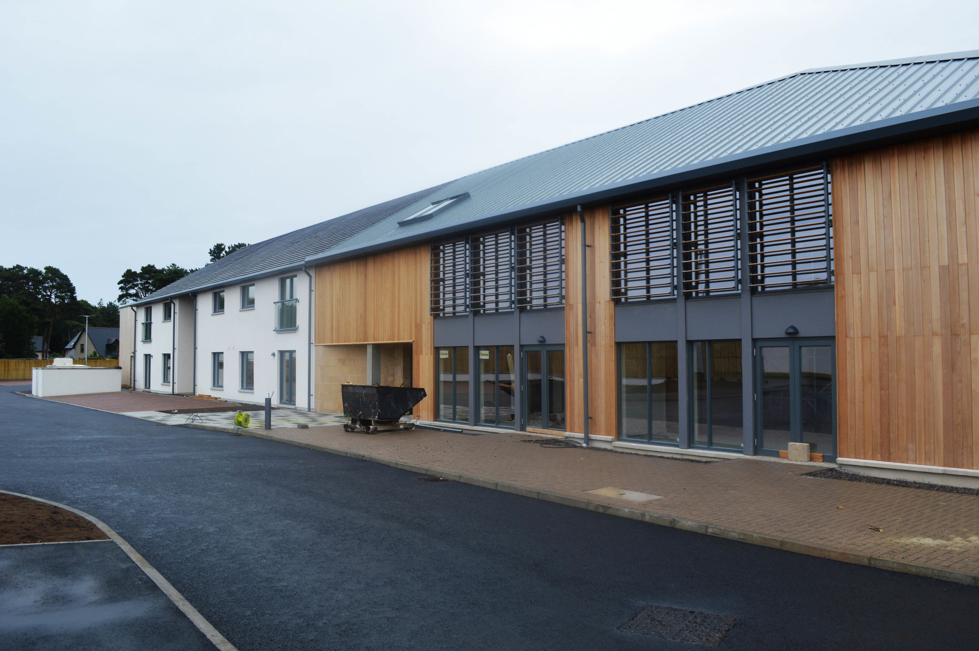 The Linkwood View complex took just over a year to build.