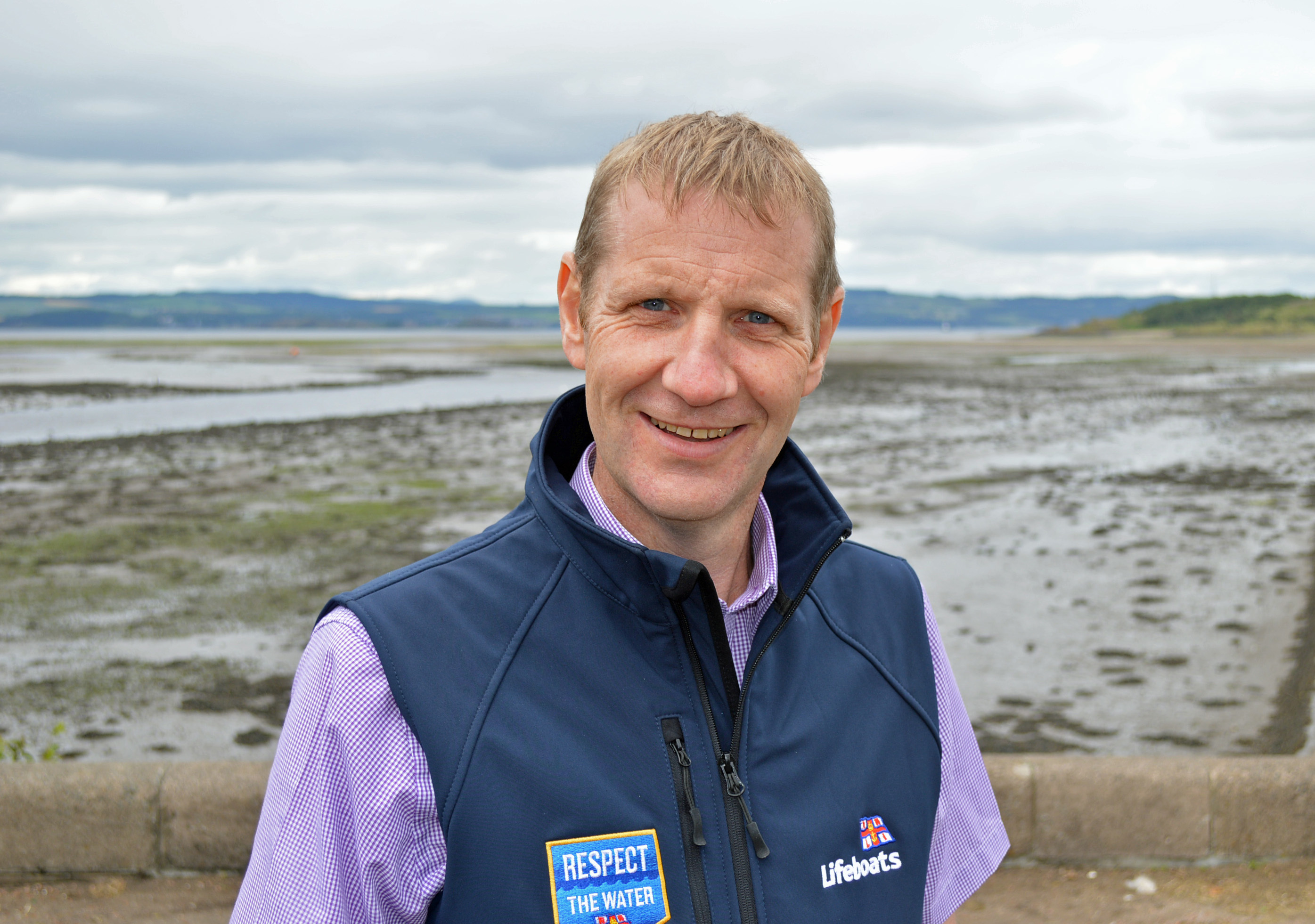 Michael Avril, of RNLI, issued a safety warning.