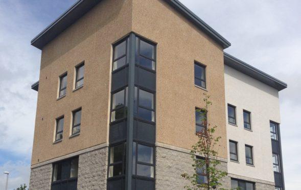 Penumbra housing support service at Papermill Gardens, Aberdeen.
