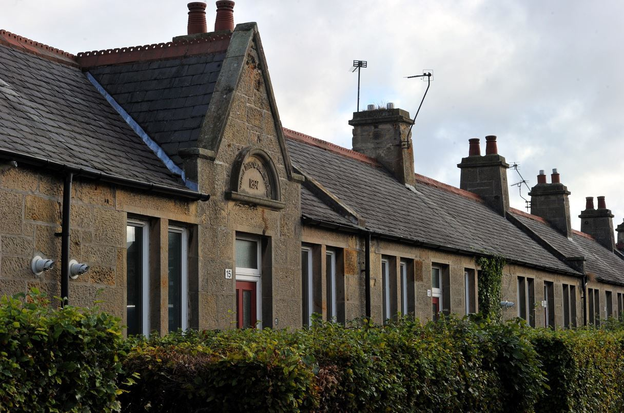 The Jubilee Cottages on Victoria Road in Elgin are intended to help people make the transition from hospital back home.