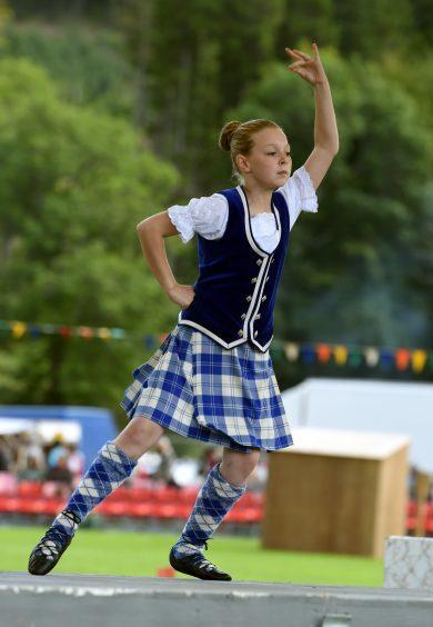 Dancer, Kirstyn Munro, 11, Glenbuchet.