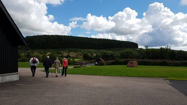 The Forget Me Not club is starting a new outdoors club for  dementia sufferers