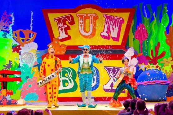 The FunBox presents Underwater Adventure