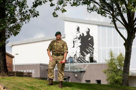 45 Commando's Marine David Griffin.