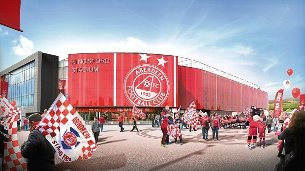 The proposed Kingsford stadium.